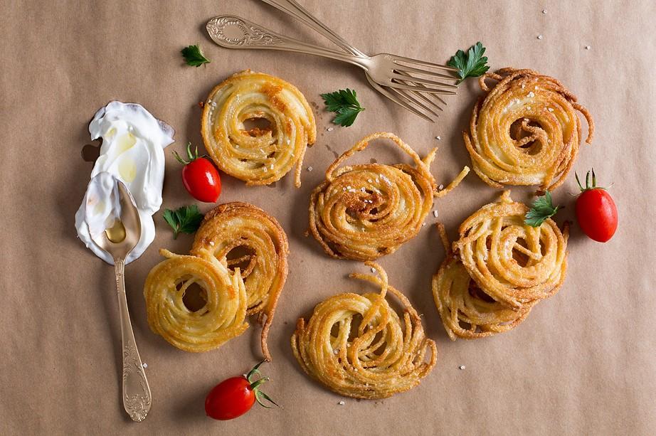לביבות ספגטי