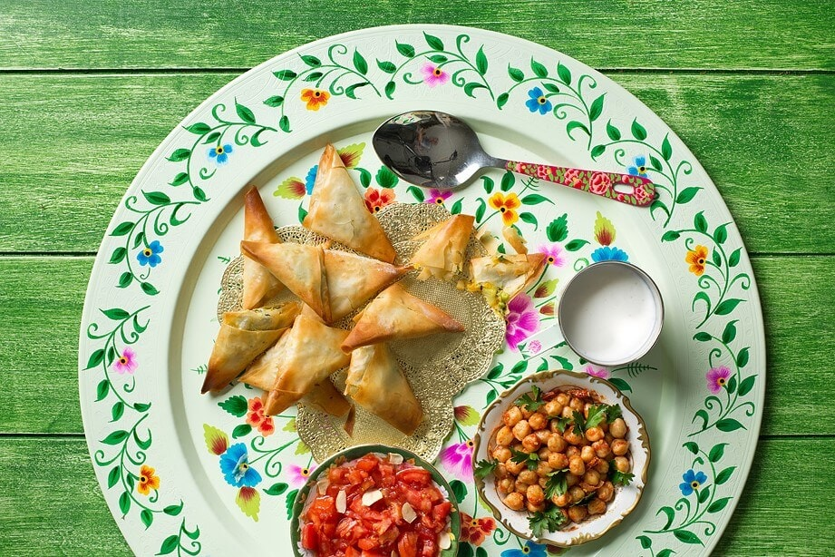 ארוחה הודית קטנה