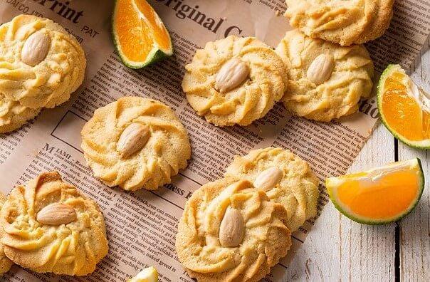 עוגיות חמאה קלמנטינה