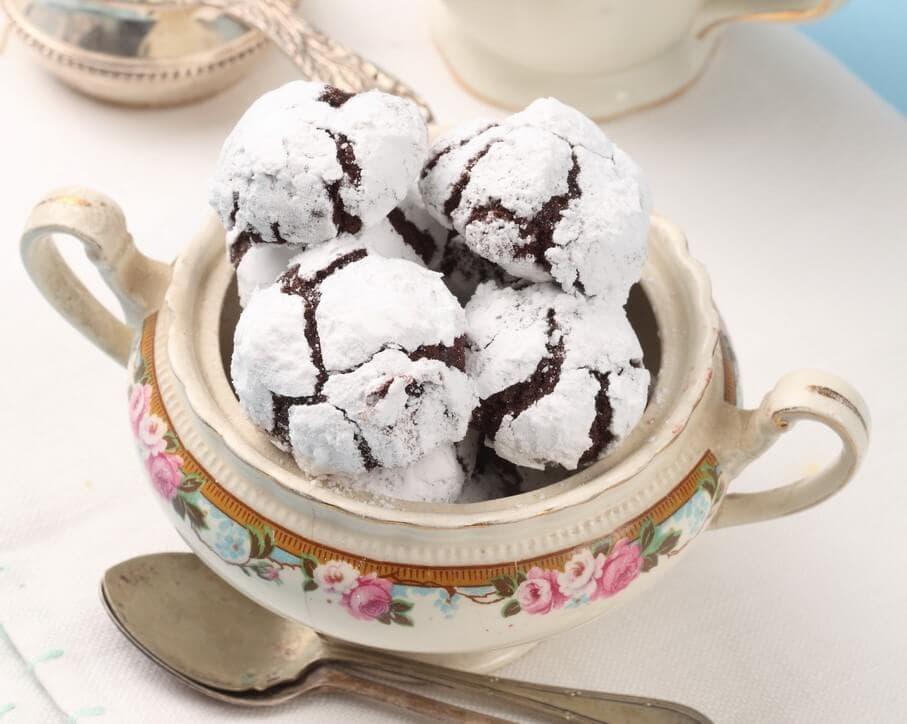 עוגיות שוקולד ברנדי