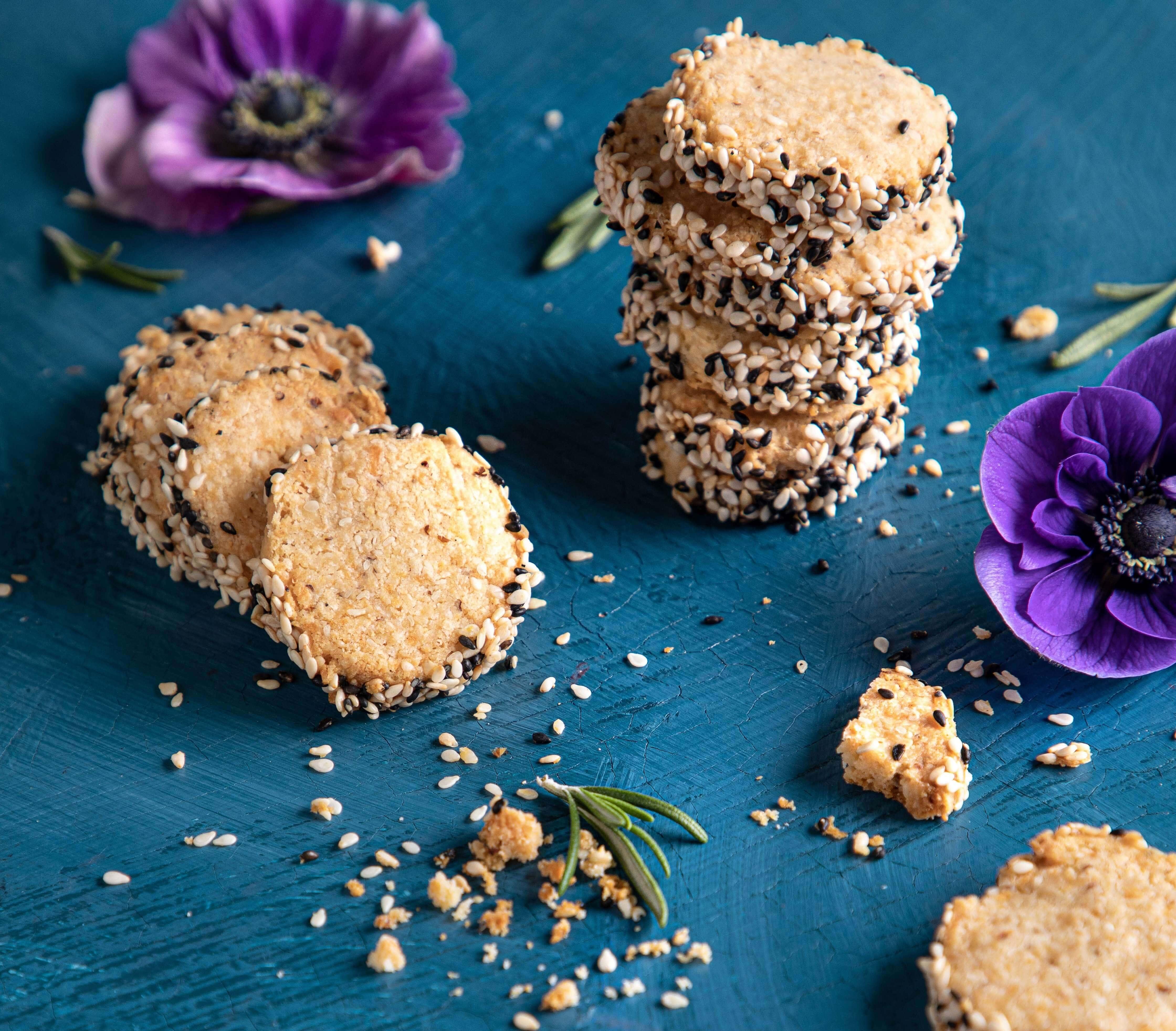 עוגיות פרמז'ן עדינות